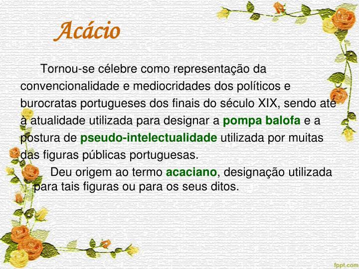 Acácio