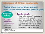 principles of ethical leadership1