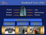 building a trust utility