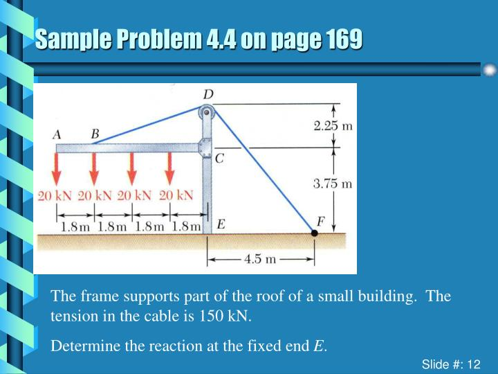 Sample Problem 4.4 on page 169