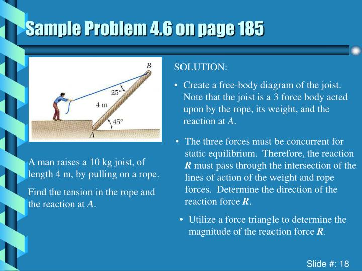 Sample Problem 4.6 on page 185