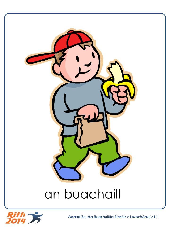 an buachaill