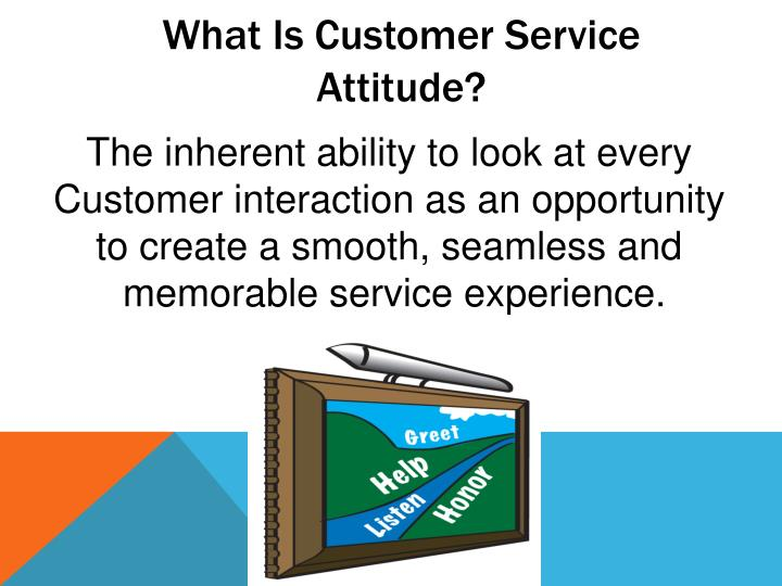 What Is Customer Service Attitude?