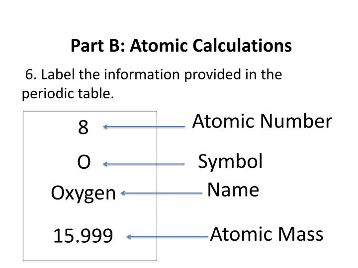 Ppt part a atomic structure powerpoint presentation id5443969 part b atomic calculations urtaz Gallery