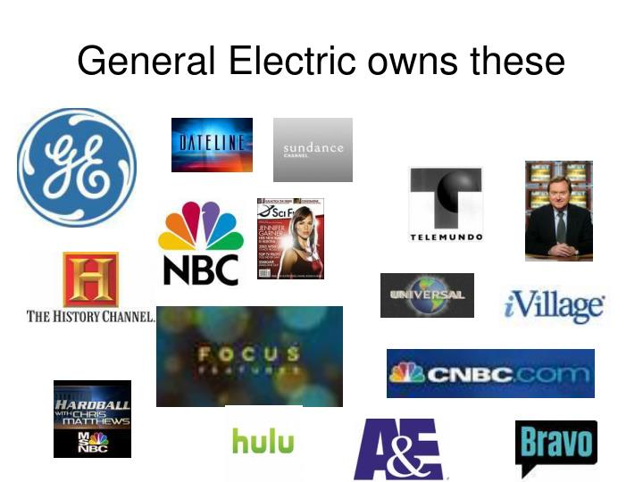 General Electric owns these