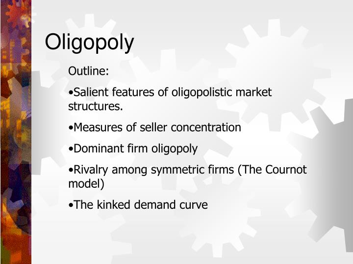 an analysis of the basic cournot model of oligopoly Part iii oligopoly and strategic interaction to introduce some basic game theoretic analysis and to show how it may cournot (1836) model of oligopoly.