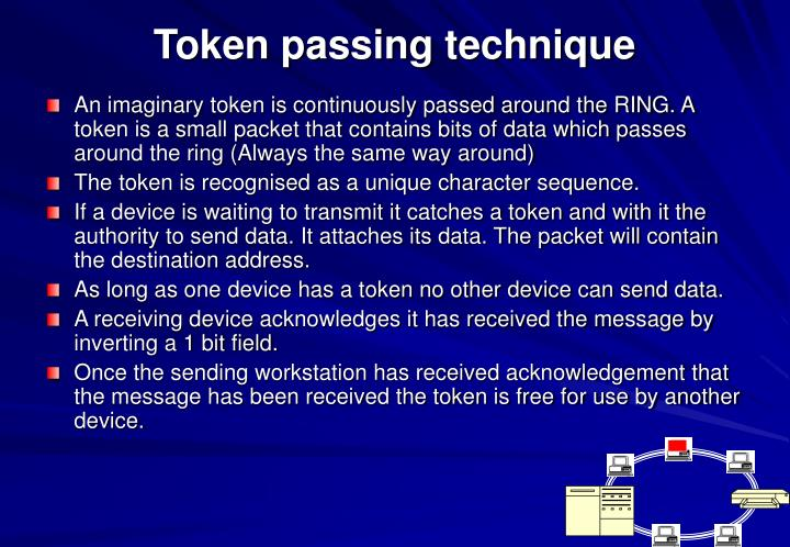 Token passing technique