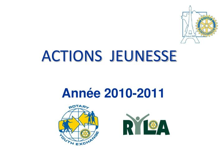 actions jeunesse n.