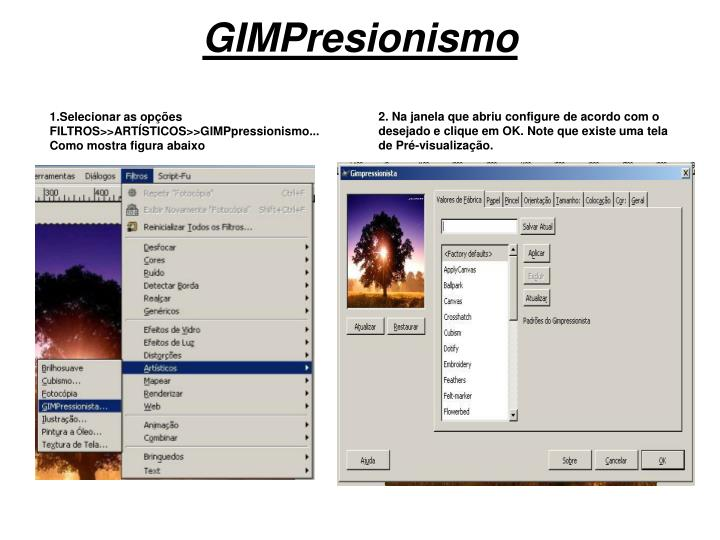 GIMPresionismo