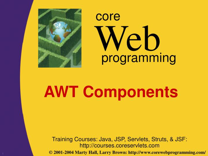 awt components n.