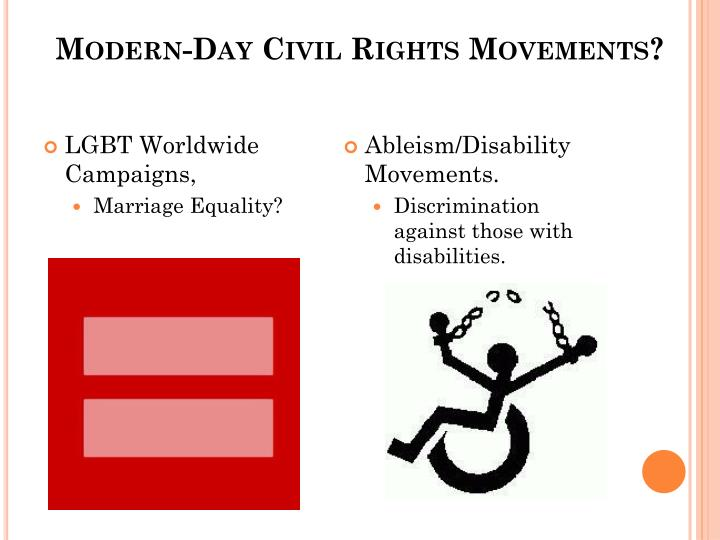 Modern-Day Civil Rights Movements?