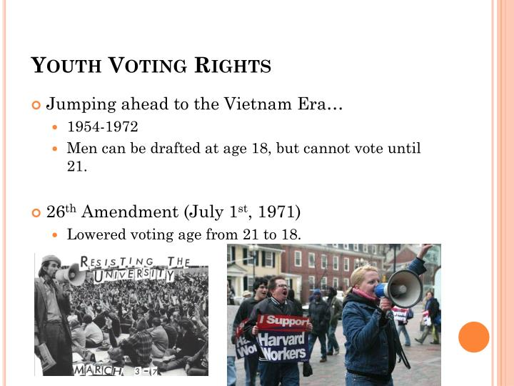 Youth Voting Rights