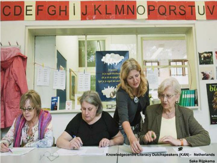 Knowledgecentre Literacy Dutchspeakers (KAN) -