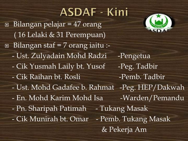 ASDAF -
