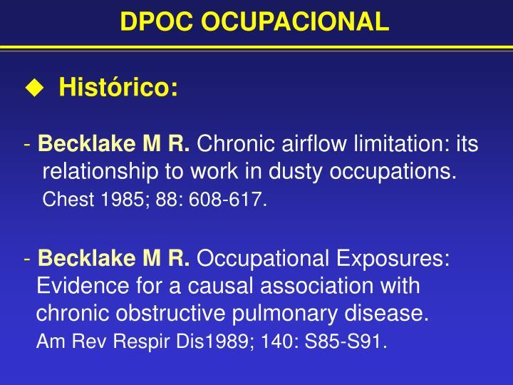 DPOC OCUPACIONAL