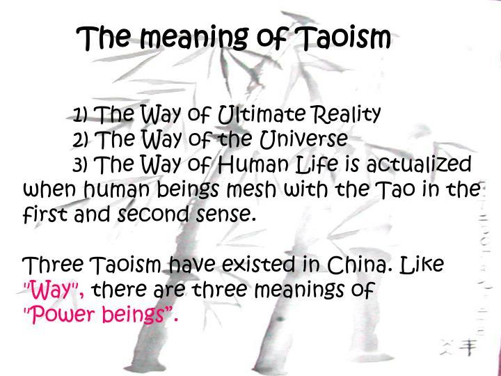 ppt - taoism powerpoint presentation