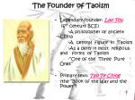 the founder of taoism