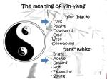 the meaning of yin yang