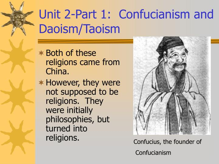 daoism and confucianism essay According to daoism, observing all the ways of the truth can lead to blessed immortality immortality is the ultimate goal of a daoist immortality is the ultimate goal of a daoist the peaceful and healthy ideas of daoism have helped to make this chinese religion stand the test of time.