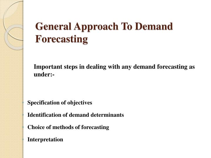 the importance of forecasting in market operations Statistical forecasting: the selection and implementation of the proper forecast methodology has always been an important planning and control issue for most firms and agencies often, the financial well-being of the entire operation rely on the accuracy of the forecast since such information will likely be used to make interrelated budgetary.