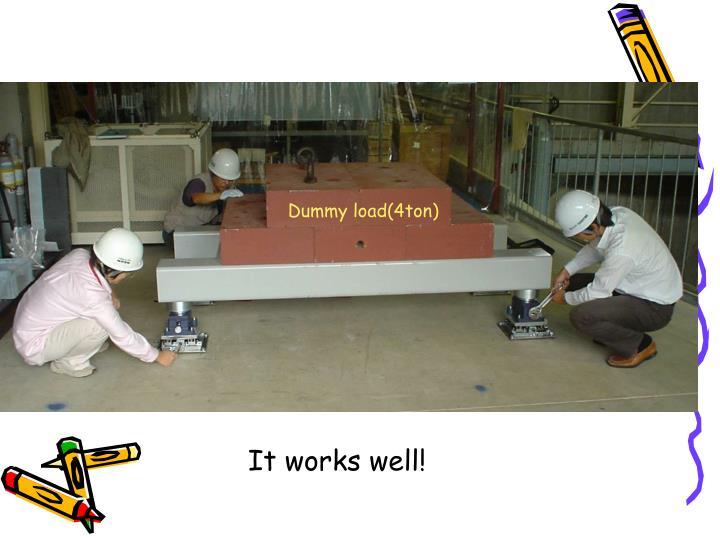 Dummy load(4ton)