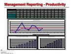 management reporting productivity