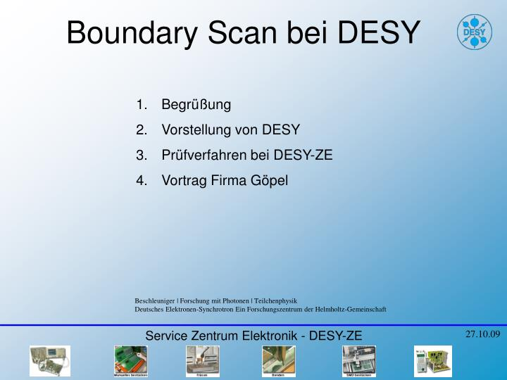 PPT - Boundary Scan bei DESY PowerPoint Presentation - ID:5445451