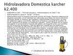 hidrolavadora domestica karcher k2 400
