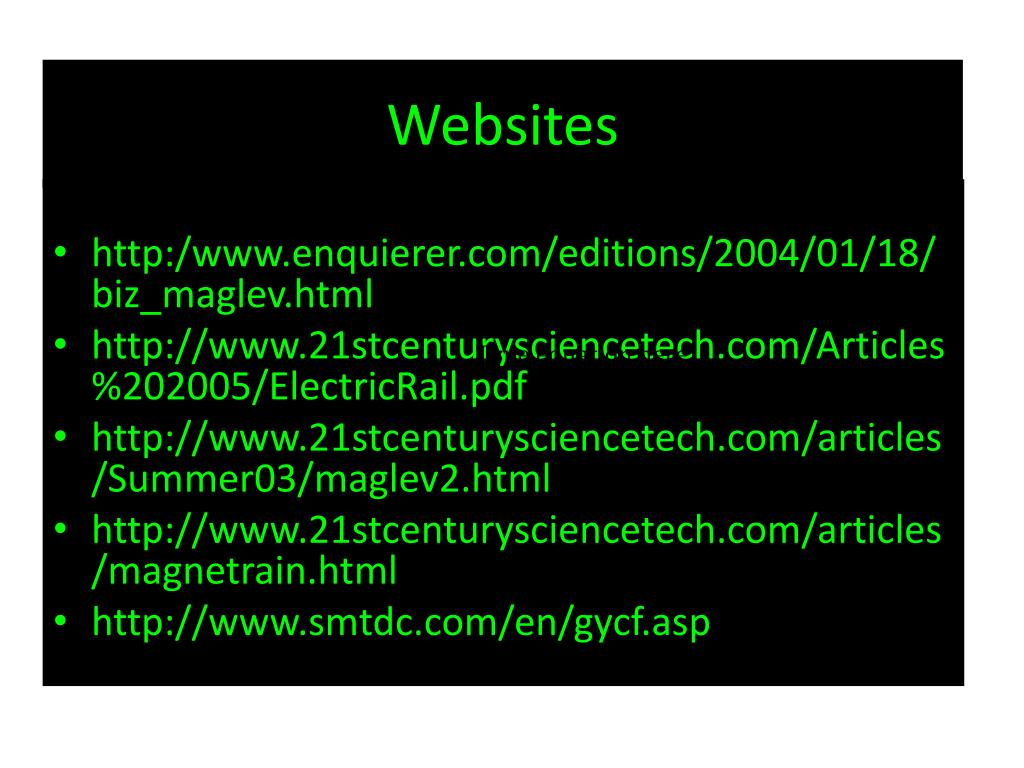 PPT - Maglev Train Project PowerPoint Presentation - ID:5445619