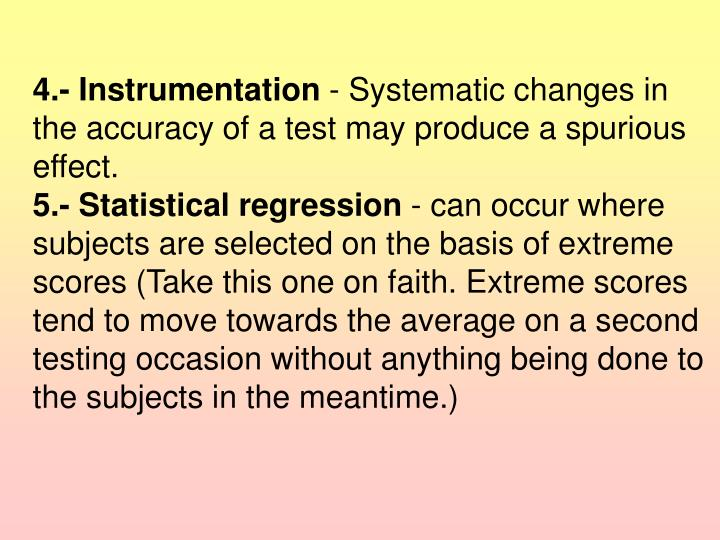 4.- Instrumentation