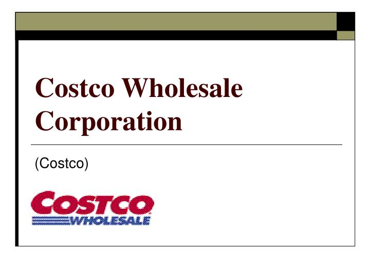 costco wholesale corp financial analysis b harvard case Business analysis: the case of costco company costco wholesale corp financial statement analysis (a) harvard classics.