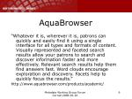 aquabrowser