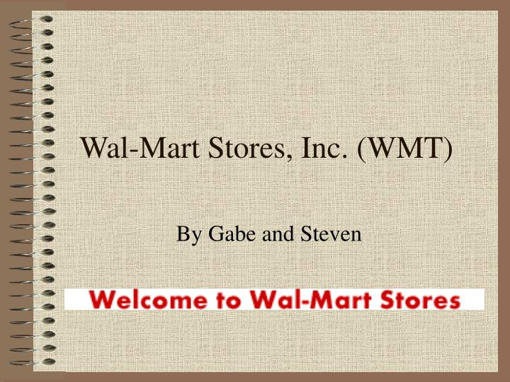 wal mart stores inc wmt n.