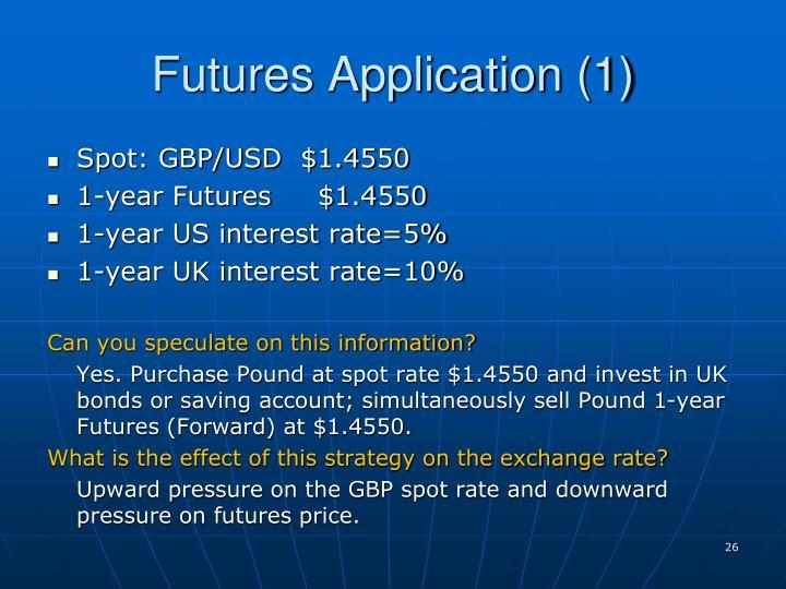 Futures Application (1)