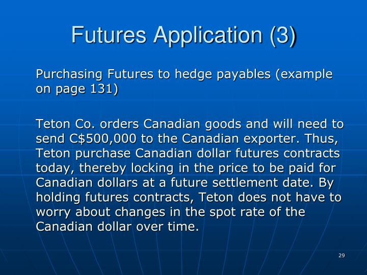 Futures Application (3)