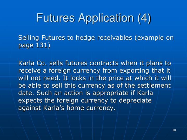 Futures Application (4)