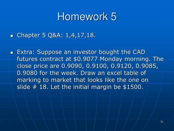 Homework 5