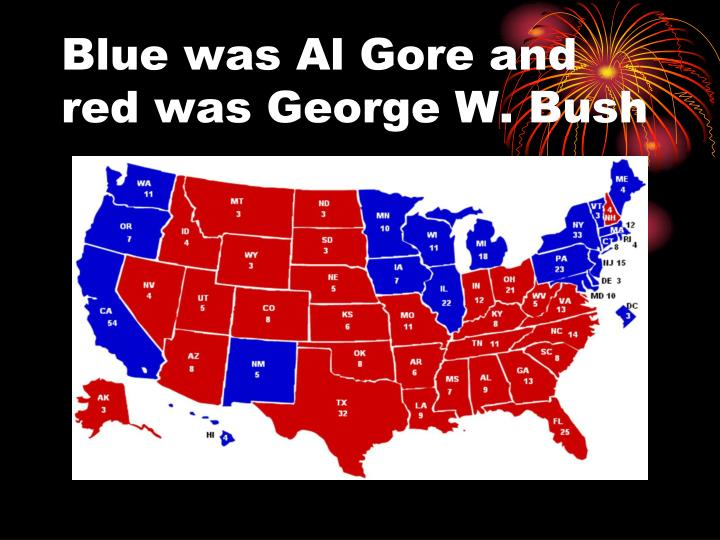 an analysis of the al gore and george bush on the presidential elections in 2000 Two surveys provide information on a hypothetical election between only george bush and al gore  third-party candidates and the 2000 presidential  elections.