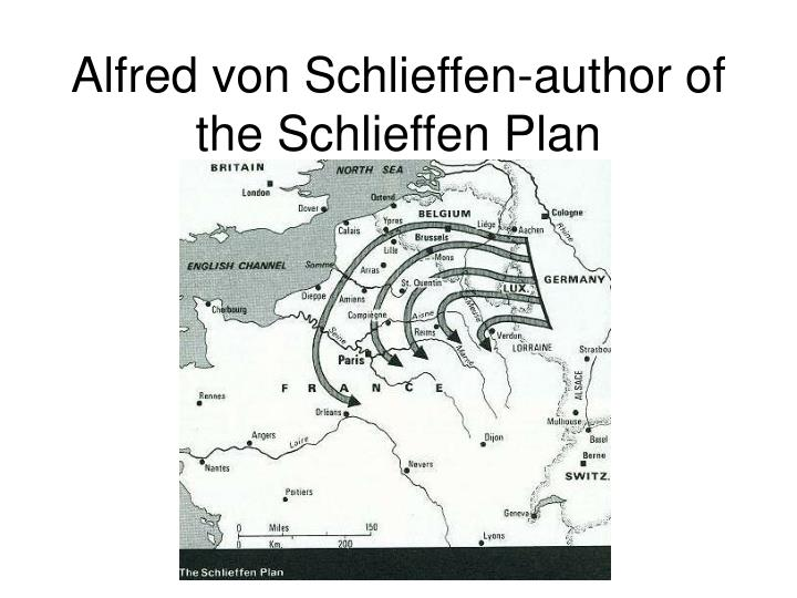Alfred von Schlieffen-author of the Schlieffen Plan