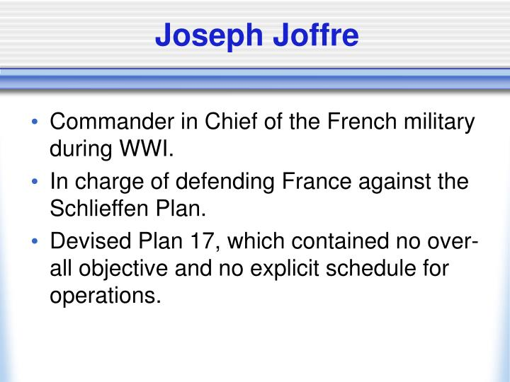 Joseph Joffre