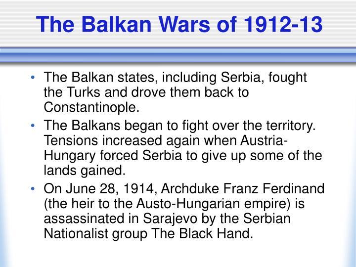 The Balkan Wars of 1912-13