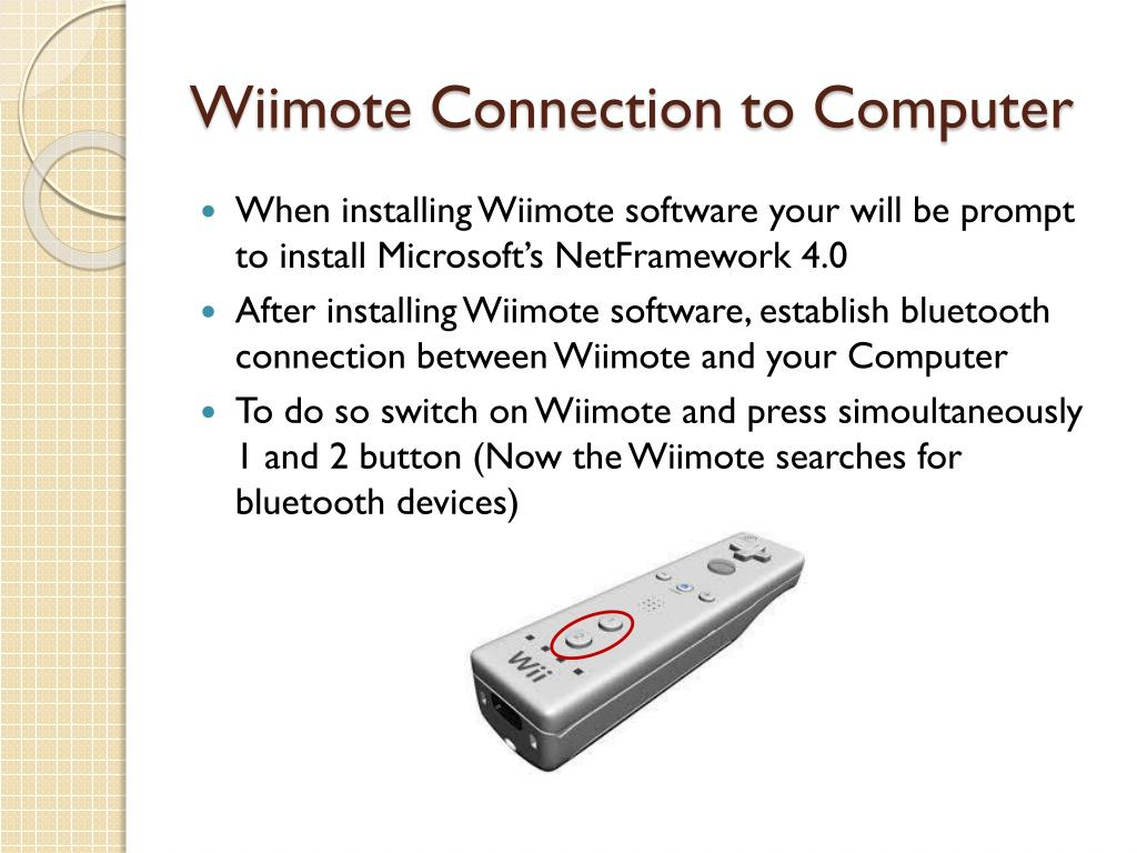 Wiimote Pairing Code