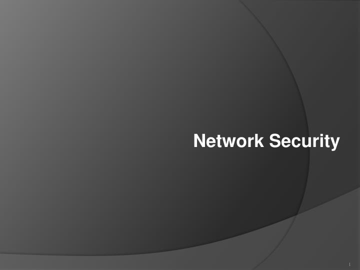 Ppt Network Security Powerpoint Presentation Id5446942
