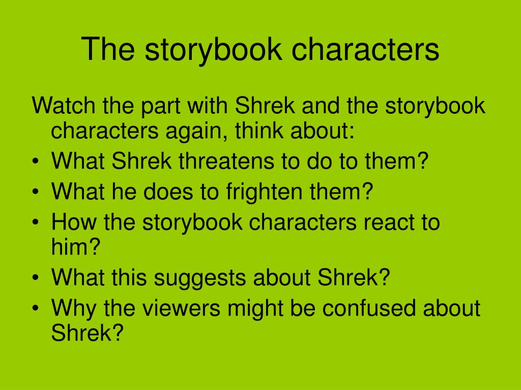 ppt the storybook characters powerpoint presentation id 5446999