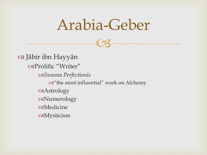 Arabia-Geber