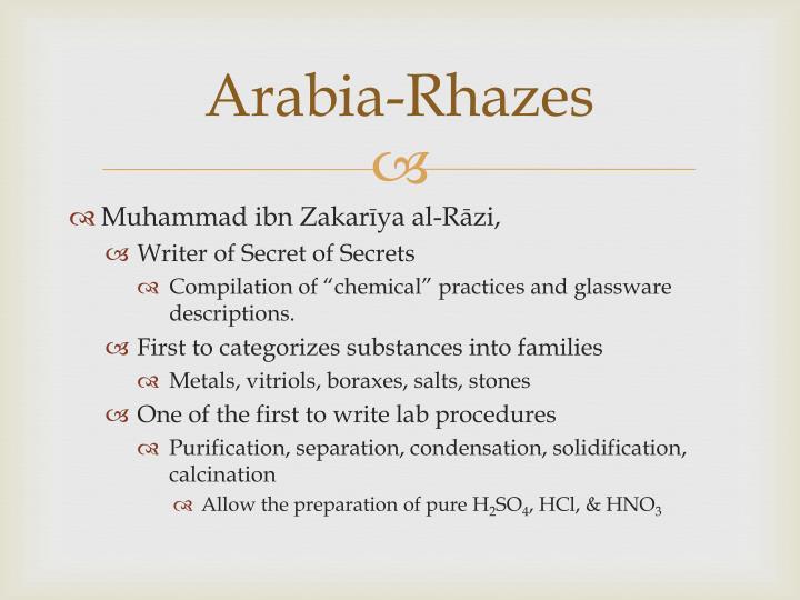 Arabia-Rhazes