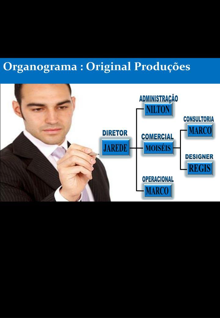 Organograma : Original Produções
