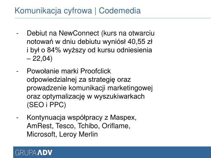Komunikacja cyfrowa | Codemedia