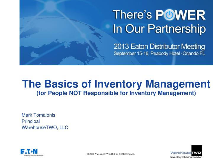 the basics of inventory management for people not responsible for inventory management n.