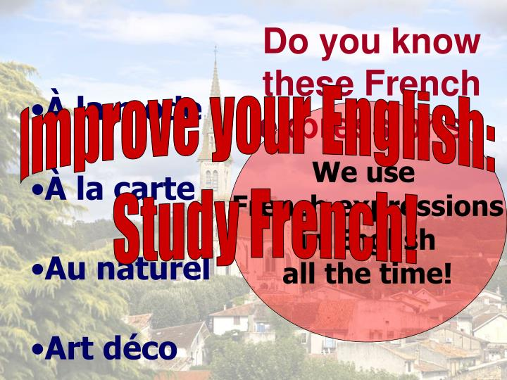 do you know these french expressions n.